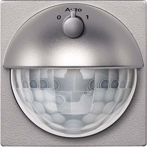 Merten MEG5711-0460 ARGUS 180 UP sensormodule met schakelaar, aluminium, systeem M