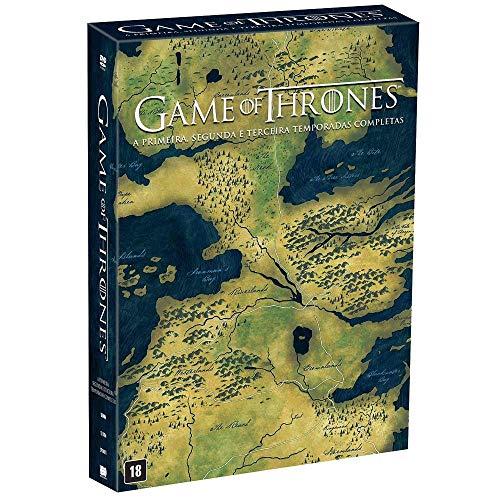 DVD - Game of Thrones – A primeira, segunda e terceira temporadas completas - 15 discos