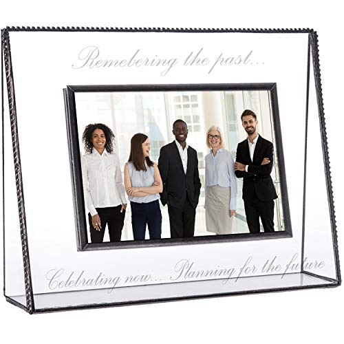 Retirement Picture Frame Personalized Engraved Glass Keepsake 4x6...