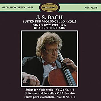 J. S. Bach: Suites for Violoncello Nos. 4-6, BWV 1010-1012