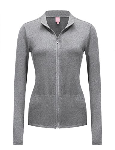REGNA X NO BOTHER Women's Full Zip Up Slim fit Casual Lightweight Track Jacket