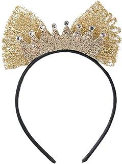 Girl Headband Girl Headband Crown Headband Children'S Mesh Hair Band Handicon Headband Hair Accessories-O