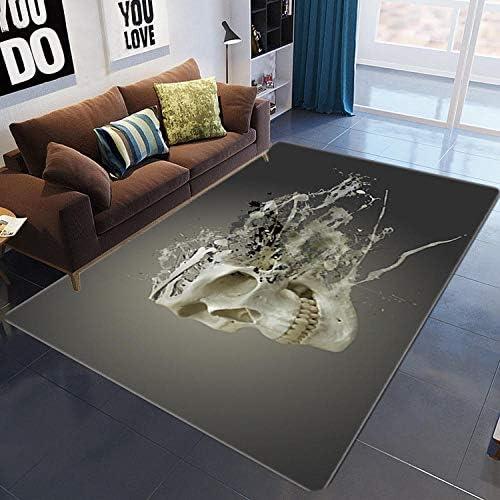 3d skull carpet _image1