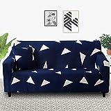 MKQB Funda de sofá elástica Estampada elástica, Funda de sofá Antideslizante para Sala de Estar, Funda de sofá de Muebles modulares de Esquina en Forma de L NO.7 L (190-230cm)