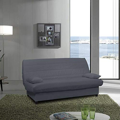 Forinvest Clic clac Gris uni Luxeuil