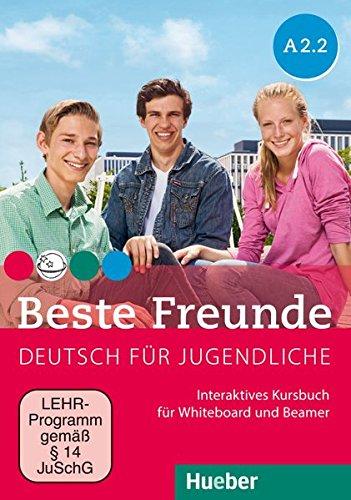Beste Freunde A2/2: Deutsch für Jugendliche.Deutsch als Fremdsprache / Interaktives Kursbuch für Whiteboard und Beamer – DVD-ROM