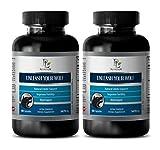 Sex Pills for Longer Sex Men Natural - Unleash Your Wolf - Male libido Supplements - 2 Bottle 120 Capsules