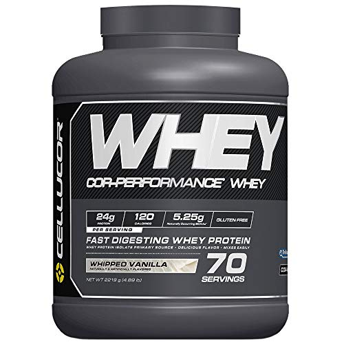 Cellucor COR-Performance Protein Powder Whipped Vanilla | 100% Gluten Free + Low Fat Post Workout...