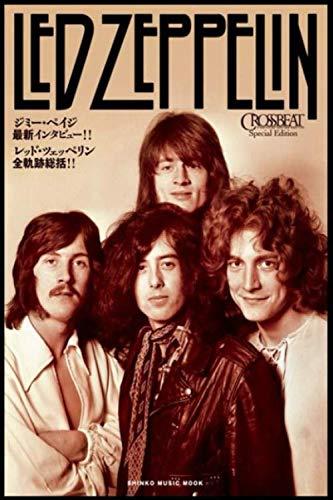 Led Zeppelin Music Notebook : for Led Zeppelin Fan