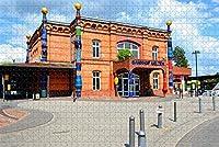 大人のためのUelzenドイツジグソーパズル1000ピース木製旅行ギフトお土産