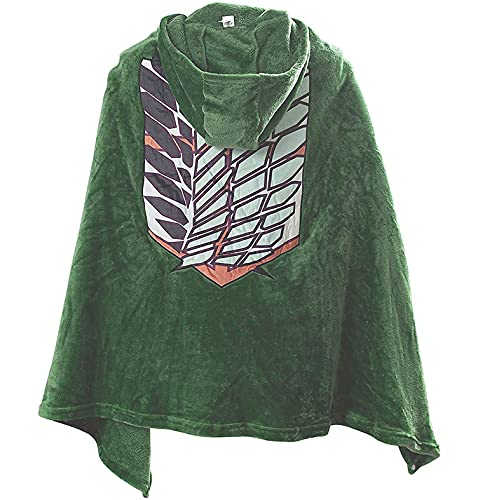 GZHPS Anime Poster Attack on Titan AOT umhang Decke Jackets Coats AOT Hoodie Jacket 144