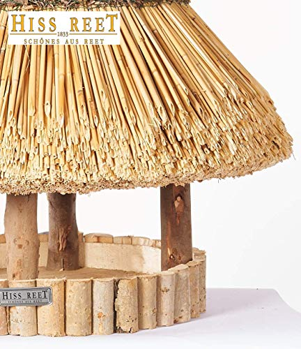 HR Vogelhaus mit Reetdach -58 cm- - 4