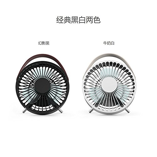 ZIJIFAN Mini USB Ventole Dormitorio Letto Desktop Office Vento più Grandi ventilatori elettrici