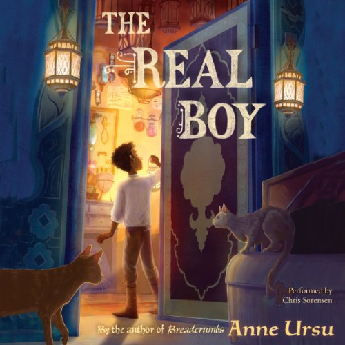 The Real Boy audiobook cover art
