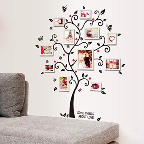 Muurstickers doe-het-zelf verwijderbare fotoboom PVC muurstickers/lijm muurschildering kunst huisdecoratie