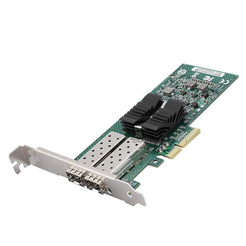 自分のために観光インチネットワークカード Bewinner デュアルポート 1Gbps SFPギガビットサーバーカード Intel 82576マスターチップ用 イーサネットカードアダプター