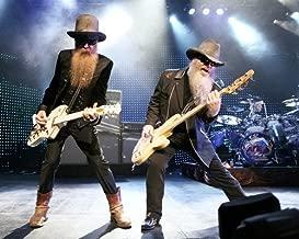 ZZ Top rock legends playing guitars 16x20 Poster