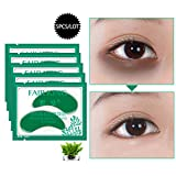 Seaweed Eye Patches Under Eye Pads Moisturizing Eye Masks, Remove Dark Circles Eye Bags Anti Wrinkle Anti Aging Anti Sagging Anti-puffiness Moisturizer Hydrating Firming, Reduce Crow's Feet 5Bags