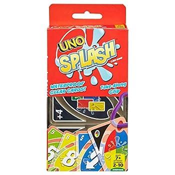 Mattel Games UNO Splash Card Game Assorted  DHW42