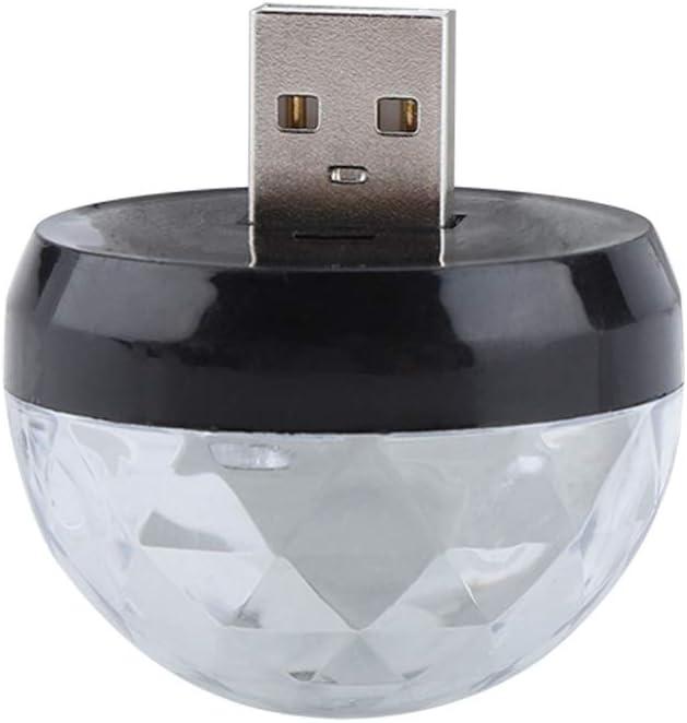 Furnoor 3W Cheap bargain RGBW Mini USB Disco Portable Crystal Free Shipping Cheap Bargain Gift Light Cellphone
