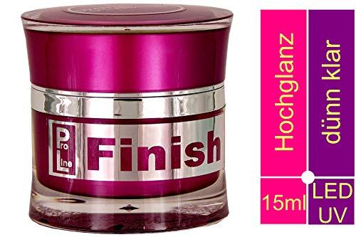 World of Nails-Design ProLine LED/UV-Finishing-Gel high viscous 15ml Versiegelungsgel