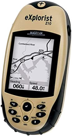 Magellan eXplorist 210 Waterproof Hiking GPS (Discontinued by Manufacturer)