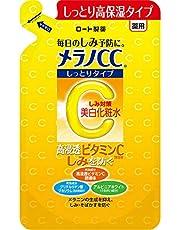 メラノCC 薬用しみ・そばかす対策美白化粧水 しっとりタイプ 高浸透ビタミンC配合誘導体配合 つめかえ用 170mL