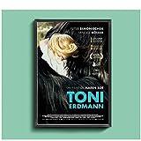 Zplbdw Toni Erdmann Film Poster Home Wandmalerei Dekoration