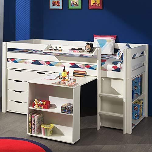 Cama con escritorio y almacenamiento Pinocchio