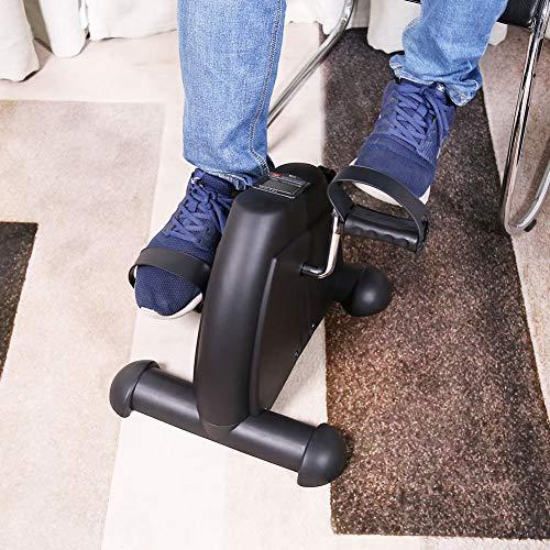 Foot Pedal Trainer, Slip Mini Exercise Bike, Multifunction for Elderly Patient