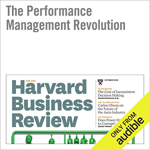 The Performance Management Revolution audiobook cover art