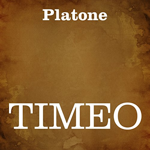 Timeo [Italian Edition] audiobook cover art