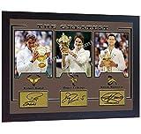 SGH SERVICES Gerahmtes Poster Roger Federer Rafael Nadal