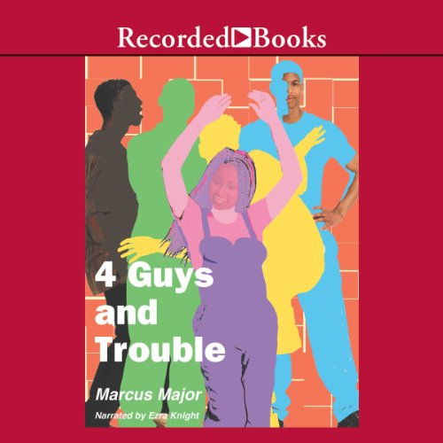 4 Guys and Trouble audiobook cover art
