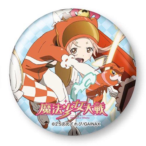魔法少女大戦 デカ缶バッヂ 神木鈴花&エビゾウ