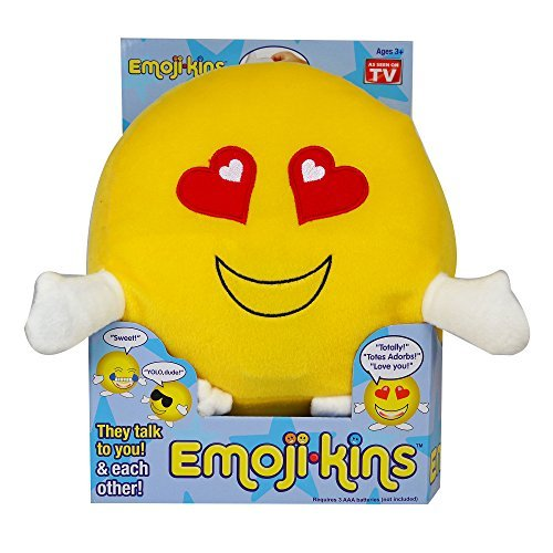 Emojikins Talking Laughster Pillow with Lights As Seen on TV
