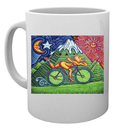 Bicicleta Día Taza Mug Cup