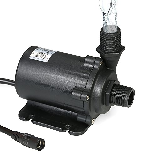 Galapara Dompelpomp Aquarium Aquariumpomp Waterpomp Bluefish DC24V 91.2W 1500L / H lift 15m Brushless waterpomp met externe controller waterdichte dompelpomp