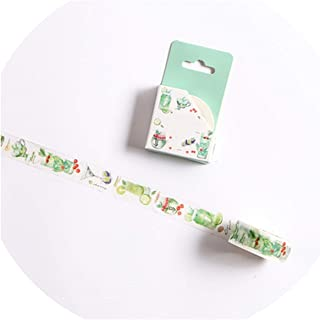 15/30mm Zoo Fruit Paper Decorative Masking Tapeese Stationery Crafts and Scrapbooking Cute Tape,G