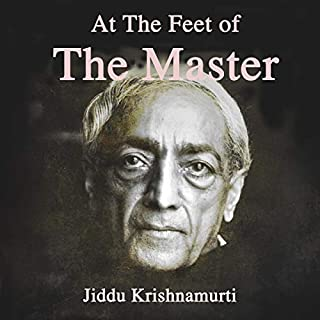At the Feet of The Master audiobook cover art
