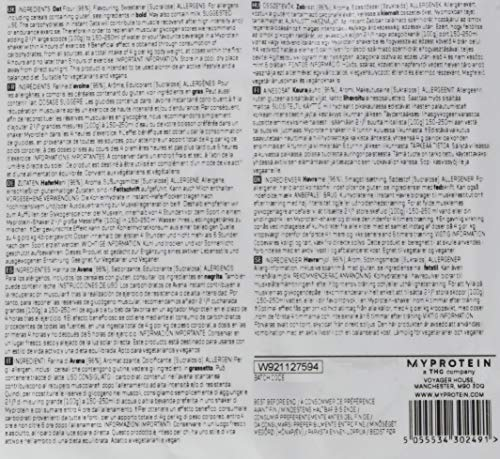 Myprotein Instant Oats Vanilla, 1er Pack (1 x 2.5 kg) - 5