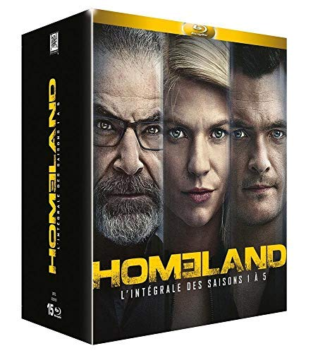 Homeland (Complete Seasons 1-5) - 15-Disc Box Set ( ) [ Französische Import ] (Blu-Ray)