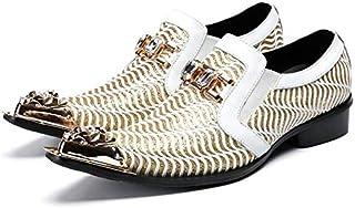 1ecaf2ba1d LOVDRAM Chaussures en Cuir pour Hommes Hommes Oxfords Chaussures De Luxe  Robe De Mariée Italienne Chaussures