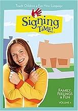 Signing Time Volume 4: Family, Feelings & Fun