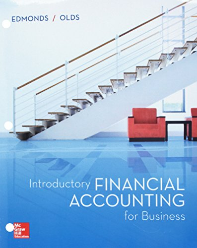 GEN COMBO LL INTRODUCTORY FINANCIAL ACCOUNTING FOR BUSINESS; CONNECT AC