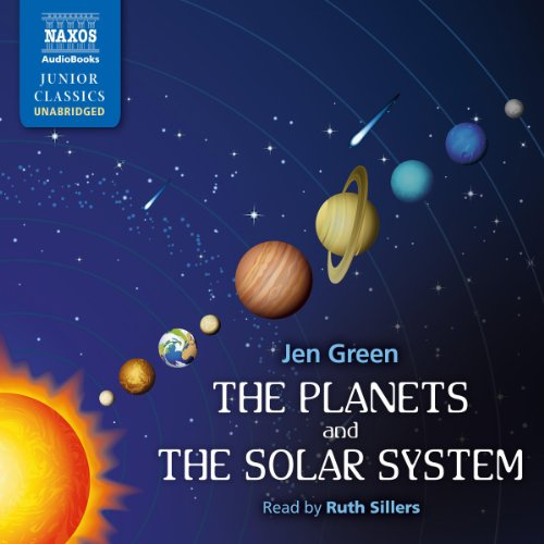 The Planets and the Solar System audiobook cover art