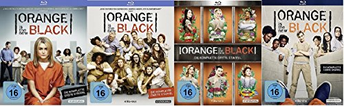 Orange is the New Black - Staffeln 1-4 [Blu-ray]