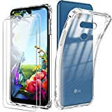 Reshias Case for LG K40S, Soft Transparent TPU Gel Silicone