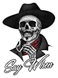 Say When Doc Holiday Sticker Decal Skeleton...