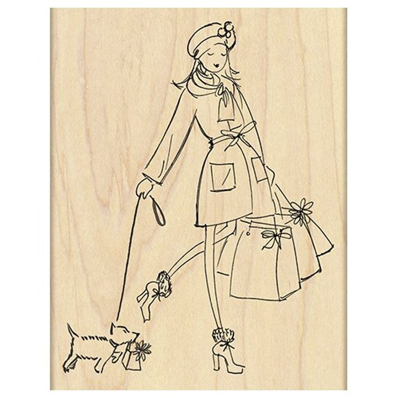 Penny Black 4278K Gifts Galore Wood Mounted Rubber Stamp